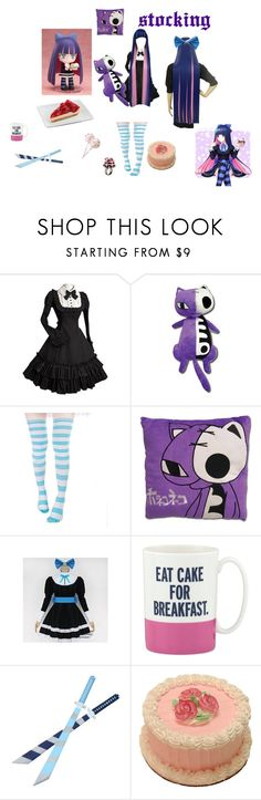 """""""stocking inspired outfit"""" by ruby-bear on Polyvore featuring COS, Kate Spade and Les Délices de Rose"""