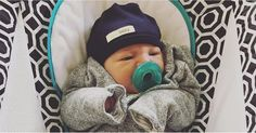 Alexa and Carlos PenaVega Share the First Adorable Photos of Their Newborn Son on Instagram