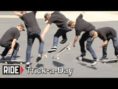 Learn a new trick each and every day from top pros. You'll get step-by-step instructions on how to master every trick in skateboarding! Tune in seven days a week to learn something new.    Today Josiah Gatlyn shows you how to do B/S Bigspins