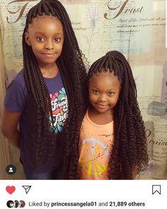 Box Braids Hairstyles, Kids Braided Hairstyles, Dreadlock Hairstyles, Cool Hairstyles, Hairdos, African Hairstyles For Kids, Black Kids Hairstyles, Little Girl Hairstyles, Kids Box Braids