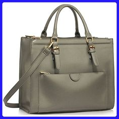 7fc56cf83f Womens Faux Leather Shoulder Bags Ladies Handbags Designer Style Tote New