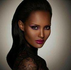 Sam Fine Beauty! New Ad for Fashion Fair Cosmetics with model Fatima S.