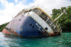 Across the world, abandoned ferries, cruise ships, ocean liners and hovercraft lie wrecked and derelict in neglected ports and lonely shorelines.