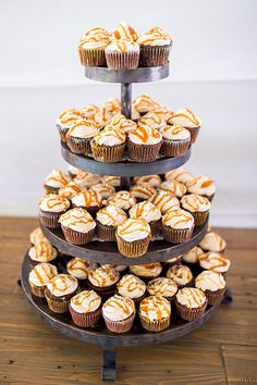 Chocolate stout groom's cupcakes with a whisky drizzle | @heidichowen | Brides.com