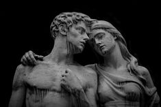 "the-life–after: "" Love by Marco Via Flickr: Cimitero Monumentale Milano in un giorno di pioggia """