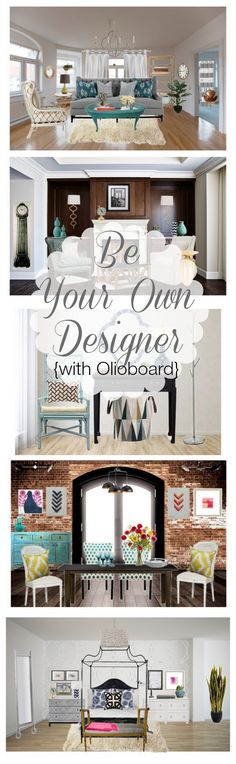 Be Your Own Designer {with Olioboard}!