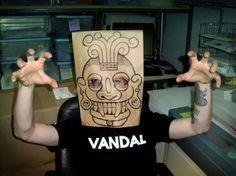 máscara bolsa