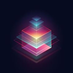36 Days of Type 03 - 2016 on Behance Design Isométrico, Icon Design, Graphic Design, Isometric Art, Isometric Design, 2 Logo, Affinity Designer, 36 Days Of Type, Motion Design