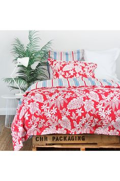 Mahalo Duvet Set - Wallace Cotton Wallace Cotton, Duvet Sets, Comforters, Bedding, Quilts, Blanket, Home, Creature Comforts, Bed Linens