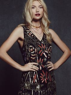 Free People Love and Embellished Shift Dress, $99.95