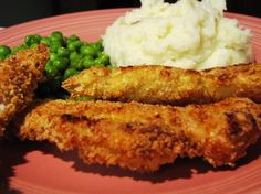 Low Fat Bread Crumb Chicken from Food.com:  You can use plain bread crumbs mixed with Italian seasoning or Progresso brand Panko Italian Style Crispy Bread Crumbs. Just 7 grams of fat and 392 calories. I found this in a family circle magazine.