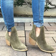 Chunky Cut Out Booties