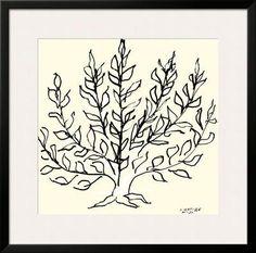 Le Buisson Framed Art Print by Henri Matisse at Art.com
