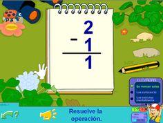 Restas #subtraction #restas #matematicas #repasar #preescolar #primaria #educacion #edtech
