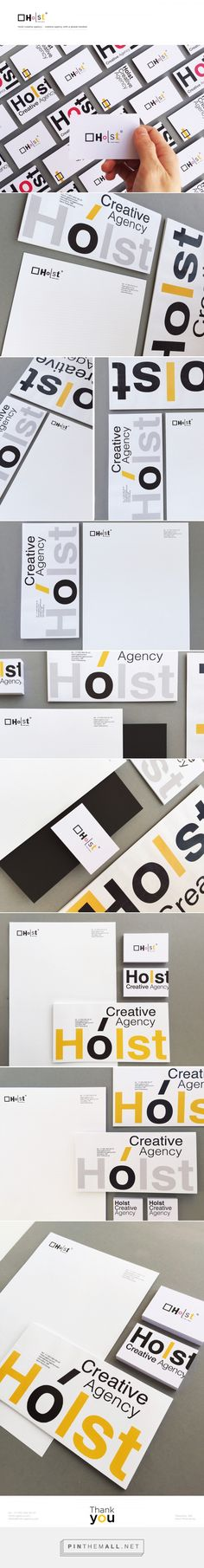 Holst Creative Agency Branding by Erik Musin | Fivestar Branding Agency – Design and Branding Agency & Curated Inspiration Gallery