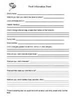 Prek Information Sheets - Yahoo Image Search Results
