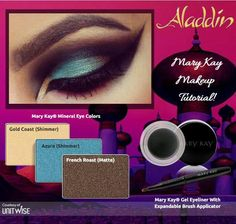 To create this look visit my website www.marykay.com/carolynt_johnson