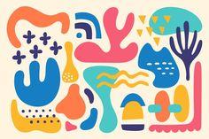 Mural Art, Wall Murals, Abstract Shapes, Abstract Art, Keramik Design, Organic Shapes, Organic Patterns, Digital Illustration, Art Inspo