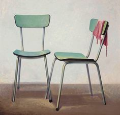 Untitled by Barend Blankert on Curiator, the world's biggest collaborative art collection. Room Chairs, Dining Chairs, Magic Realism, Collaborative Art, Artwork, Painting, World's Biggest, Furniture, Design