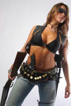 Border patrol officer bang brunette babe