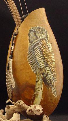 pat_schalbrack stunning gourd art
