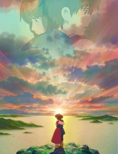 A Journey Across Earthsea - Art Director Yôji Takeshige (Studio Ghibli's Tales From Earthsea Totoro, Hayao Miyazaki, Anime Manga, Anime Art, Nausicaa, Tales From Earthsea, Le Vent Se Leve, Studio Ghibli Movies, Film D'animation