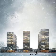 Work | ZNAK - architectural illustrations