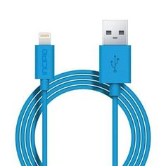 Apple iPhone 7 Plus Incipio Lightning Charger and Sync Cable - Cyan Apple iPhone 7 Plus data cable at exceptional prices. Full line of Apple iPhone 7 Plus usb data cables, serial data cable, data cables, and more. Portable Usb Charger, Cable Lightning, Iphone 7 Plus, Usb Flash Drive, Accessories, Apple, Gray, Apple Fruit, Grey