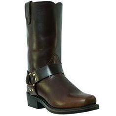 Dingo Men's Mahogany Dean Harness Motorcycle Boots Size 13 M Motorcycle Leather, Motorcycle Boots, Leather Men, Leather Boots, Dingo Boots, Biker Boots, Men's Boots, Cool Boots, Fashion Boots