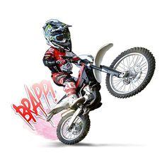 ค้นหาด้วย Google Motorcycle Art, Bike Art, Motos Trial, Motocross Love, Harley Davidson Posters, Cool Dirt Bikes, Minions Images, Dirt Bike Racing, Biker Tattoos