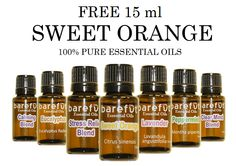 Free Sweet Orange Essential oil