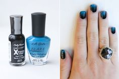 A collection of links of easy nail tutorials via dollarstorecrafts.
