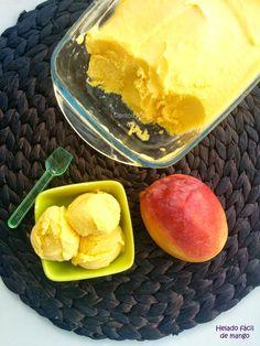Cocinax2. Las recetas de Laurita.: Helado fácil de mango