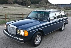I have a much newer version but this '85 Mercedes wagon is my dream.