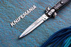 Armando Beltrame 9 Coltellerie Italian Black Dagger Stiletto