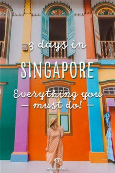 Craving a modern adventure which is sure to blow you away? Here is the exact itinerary which I used to have an amazing three days in Singapore! Singapore Guide, Singapore Travel Tips, Tourism In Singapore, Singapore Trip, Malaysia Itinerary, Singapore Itinerary, Weekender, Asia Travel, Croatia Travel