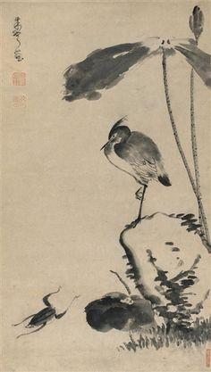 Artworks of Zhu Da (Chinese)