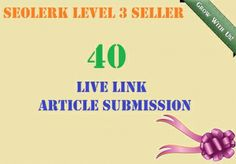 submit and approve your article in 40 article subm... for $5