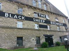 The black sheep brewery in Masham