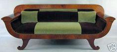 Look!: A Color-Blocked Biedermeier Sofa