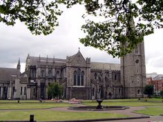 BEEN THERE...the grounds are a lovely place to while away the time.  St. Patrick's Cathedral in Dublin, Ireland