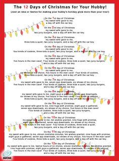 Romantic 12 Days Of Christmas Ideas