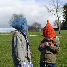 Autumn Hat Crochet Pattern for Children, Pixie Hat Crochet Pattern, Winter Bonnet Crochet Pattern, Autumn Chunky Hat Crochet Pattern Crochet Hook Sizes, Crochet Hooks, Fall Hats, Winter Hats, Bonnet Hat, Stitch Markers, Easy Crochet, Pixie, Crochet Patterns