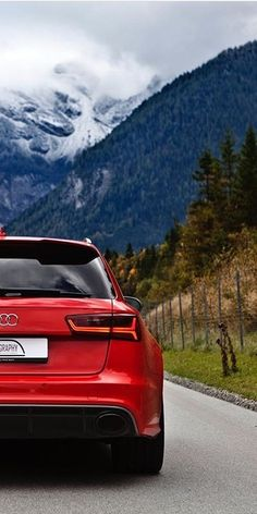 RS6 In The Alps