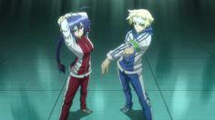 Medaka Box Zenkichi   Image - Medaka and Zenkichi ready to train.jpg - Medaka Box Wiki ...