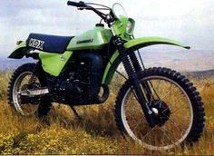 "1979 Kawasaki KDX400 dirt bike.  My first ""real"" bike."