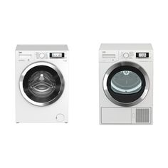 Set (Sušička prádla Beko DE 8635 RX0) + (Automatická pračka Beko Superia WMY 61243 CS PTLB1)
