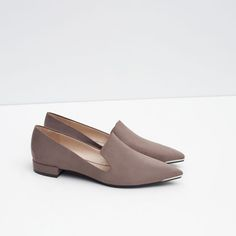 Image 5 of METAL TOE SLIPPER from Zara
