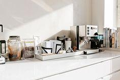 Open keuken met lage kasten