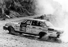 w123 Rally Car